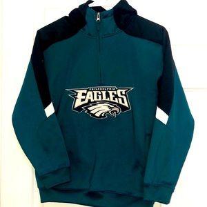 NFL- Philadelphia Eagles 🦅 Quarter zip Hoodie
